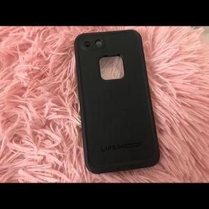 LifeProof Accessories - Black & Green LIFEPROOF Brand Case IPhone 7